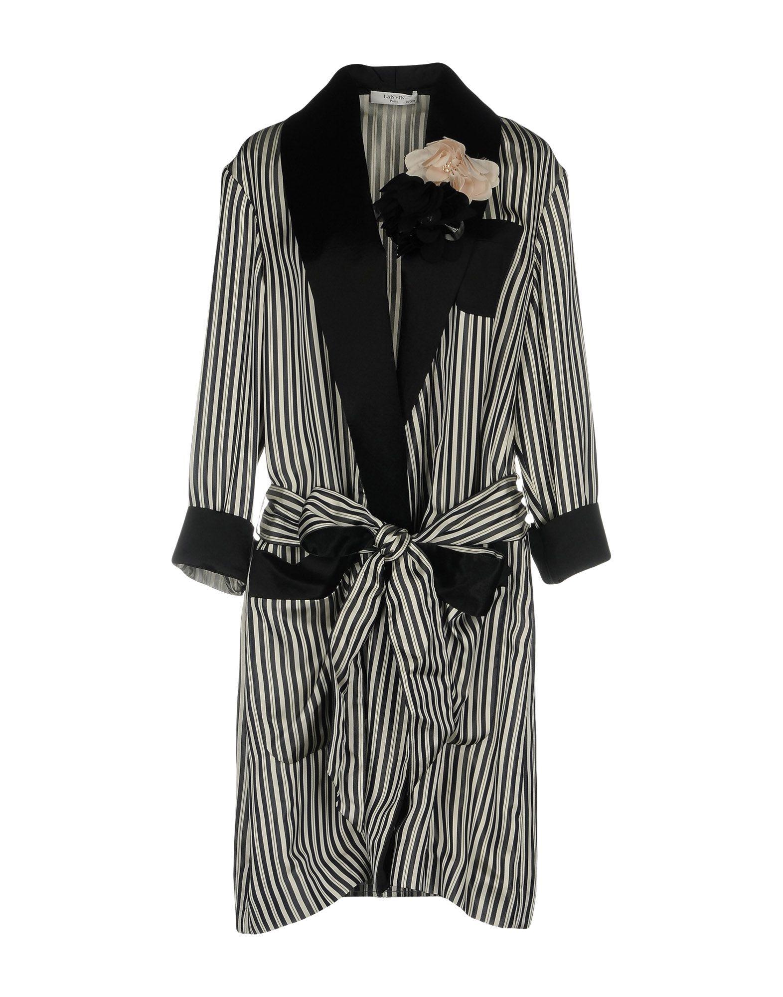 LANVIN Легкое пальто lanvin джинсовая верхняя одежда