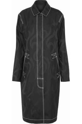 ALEXANDER WANG Wool-jacquard coat