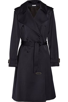 LANVIN Satin trench coat
