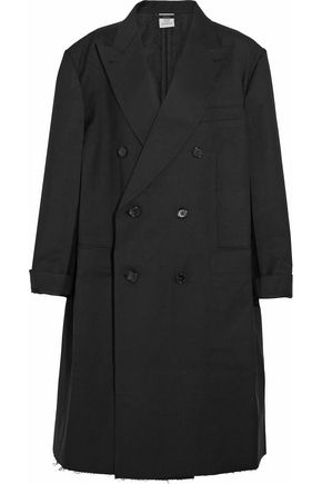VETEMENTS + Brioni oversized double-breasted wool coat