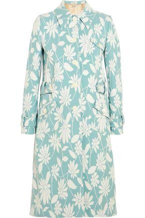 MIU MIU Floral cloqué coat