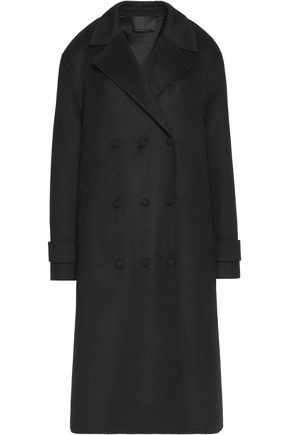 ALEXANDER WANG Triple-breasted brushed-felt coat