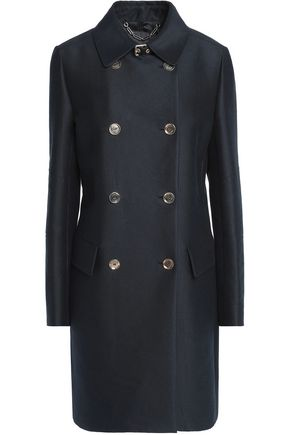 BELSTAFF Abberley cotton and silk-blend twill double-breasted coat