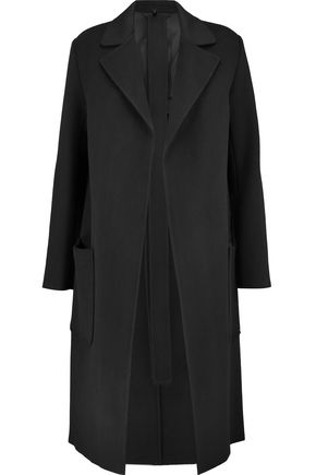 HELMUT LANG Belted wool and cashmere-blend coat