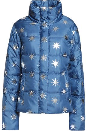 LOVE MOSCHINO Printed quilted shell jacket