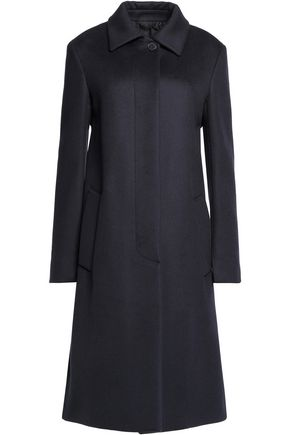 JIL SANDER Wool and cashmere-blend fleece coat