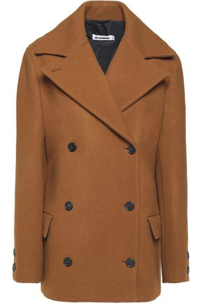 JIL SANDER Virto wool-felt coat