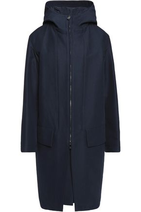 JIL SANDER Varenne cotton hooded coat