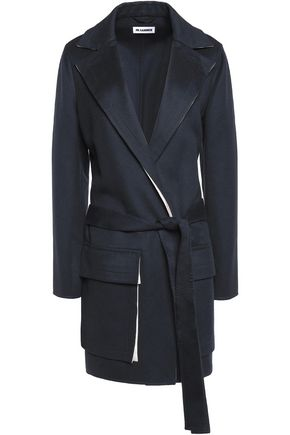 JIL SANDER Wool and cashmere-blend coat