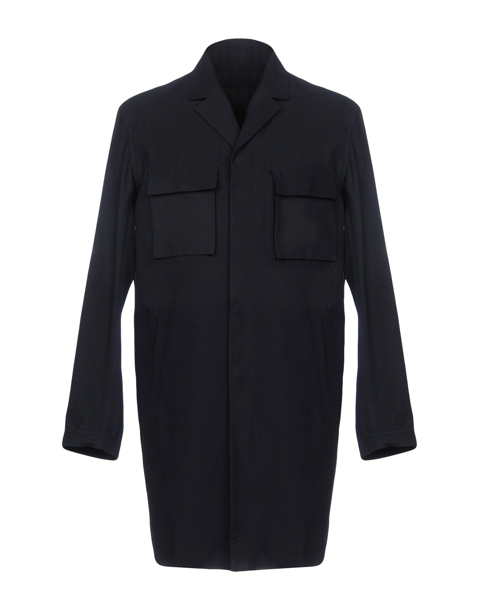 PLAC Full-Length Jacket in Dark Blue