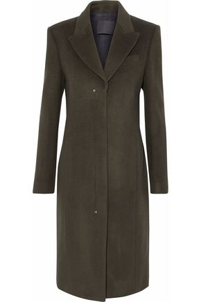 ALEXANDER WANG Wool-blend felt coat