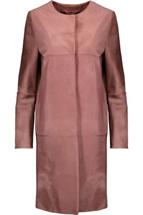 MAX MARA Calf hair coat