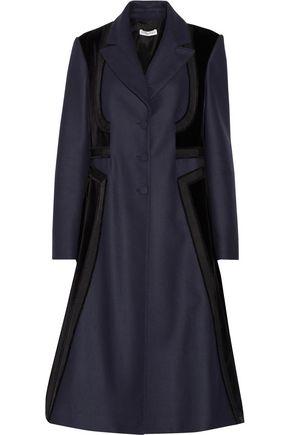 ALTUZARRA Magellan embroidered wool-blend felt and cotton-blend velour coat