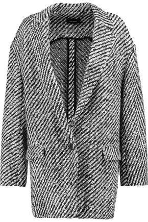 ISABEL MARANT Ilaria oversized wool-blend bouclé-tweed jacket