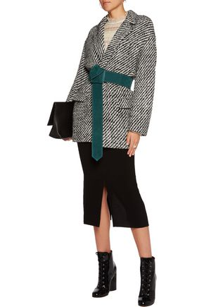 7ea40230604 ... ISABEL MARANT Ilaria oversized wool-blend bouclé-tweed jacket ...