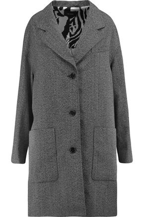 ISABEL MARANT Wool-twill coat