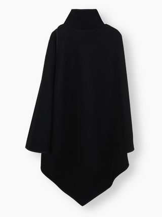 High-neck cape