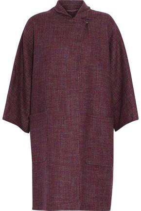 MAX MARA Mélange cashmere coat