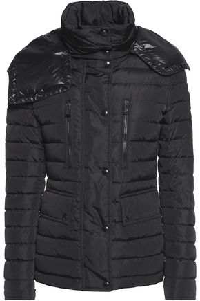 BELSTAFF Padded shell hooded coat