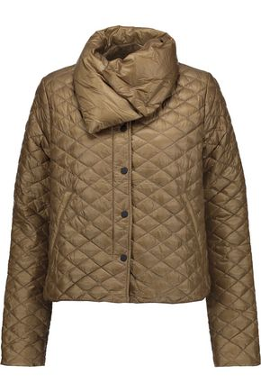 DUVETICA Anfinolea quilted shell down coat