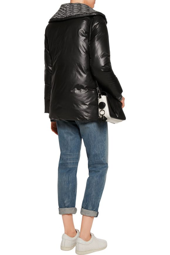 Wool-trimmed quilted shell jacket | M MISSONI | Sale up to 70% off | THE  OUTNET