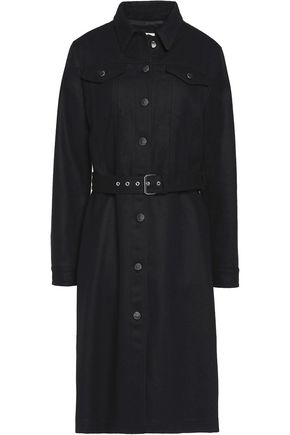 MM6 MAISON MARGIELA Brushed wool-blend coat
