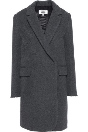 MM6 MAISON MARGIELA Brushed wool-blend coat