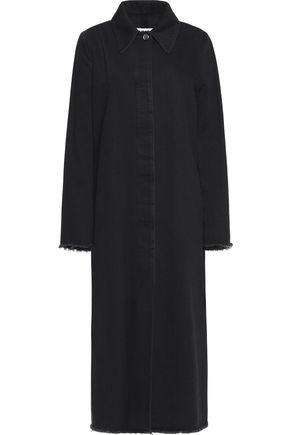 MM6 MAISON MARGIELA Frayed denim coat