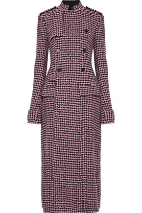 HAIDER ACKERMANN Houndstooth wool-blend trench coat