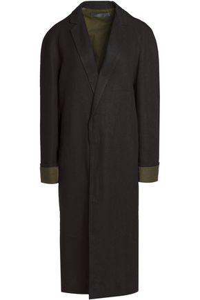 HAIDER ACKERMANN Linen-blend coat