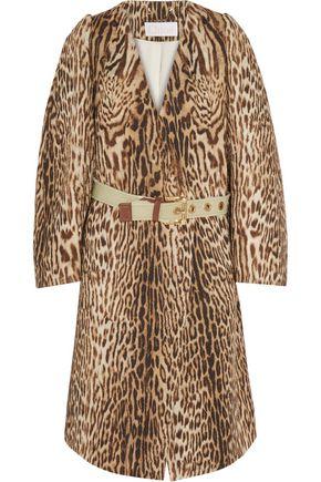 CHLOÉ Cotton-blend jacquard coat