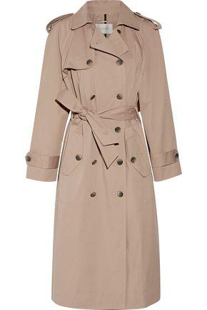 ZIMMERMANN Mischief cotton-blend gabardine trench coat