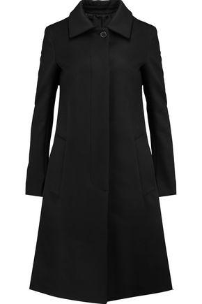 JIL SANDER Wool and cashmere-blend fleece coat