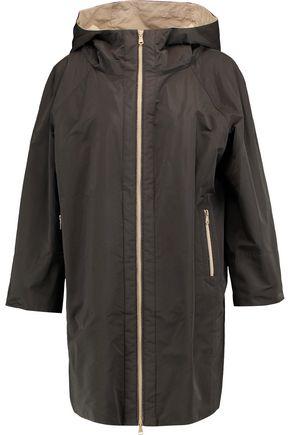 BRUNELLO CUCINELLI Shell hooded coat