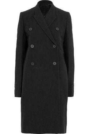 RICK OWENS Double-breasted wool coat