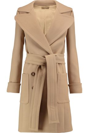 MICHAEL KORS COLLECTION Wool-twill trench coat