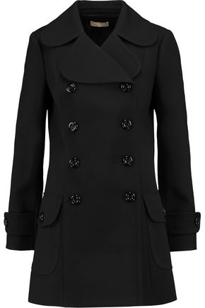 MICHAEL KORS COLLECTION Wool-crepe coat