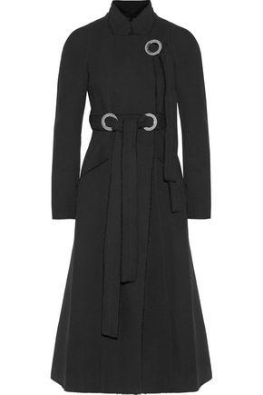 PROENZA SCHOULER Tied wool-crepe coat