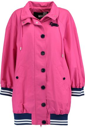 LOVE MOSCHINO Oversized cotton-blend coat