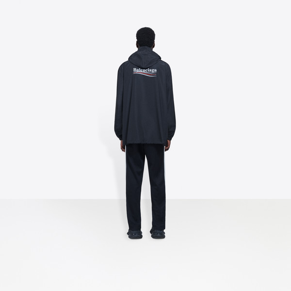 BALENCIAGA Coats U Archetype Printed Raincoat h