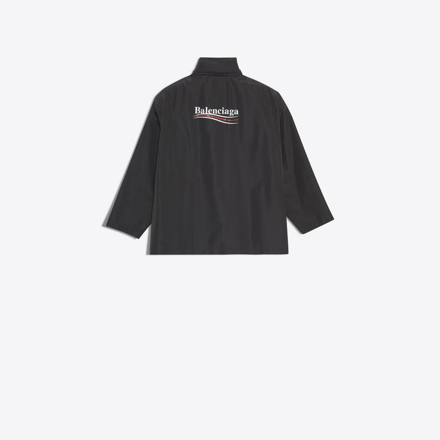 BALENCIAGA Archetype Printed Raincoat Coats U d