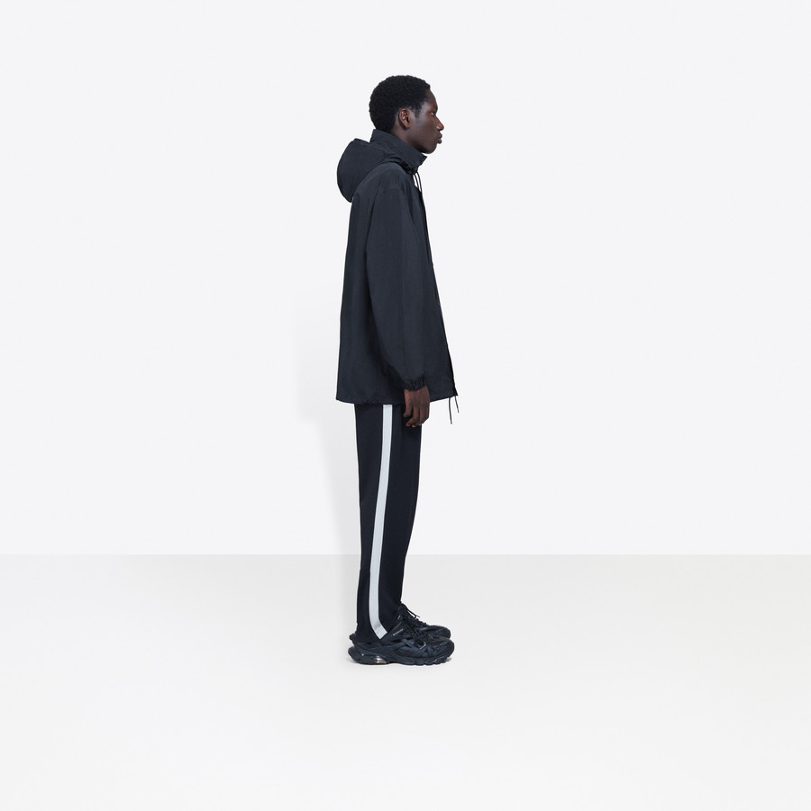 BALENCIAGA Archetype Printed Raincoat Coats U i