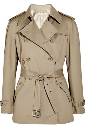 MICHAEL KORS COLLECTION Cotton trench jacket