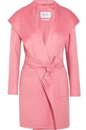 MAX MARA Hooded cashmere coat