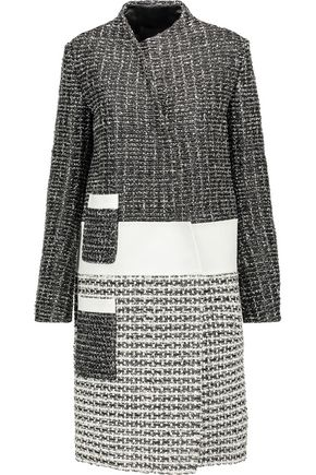 PROENZA SCHOULER Asymmetric woven leather coat