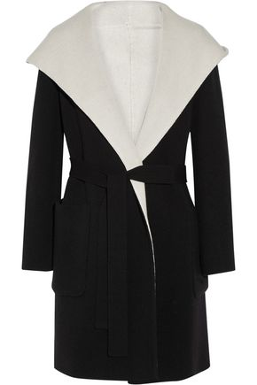 MAX MARA Reversible hooded wool coat