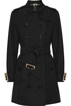 BURBERRY The Sandringham cotton-gabardine trench coat