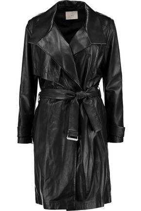IRO Gitta leather trench coat