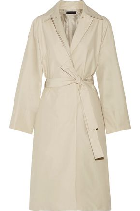 THE ROW Trentz cotton-blend poplin trench coat
