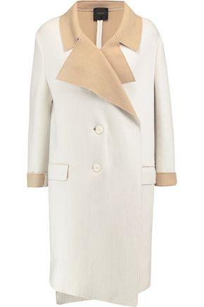 AGNONA Caban cashmere-blend coat
